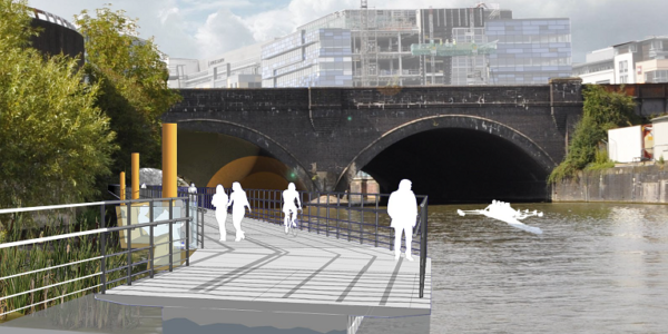 How the Harbour Walkway might look