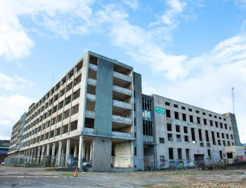 Demolition of derelict sorting office to begin